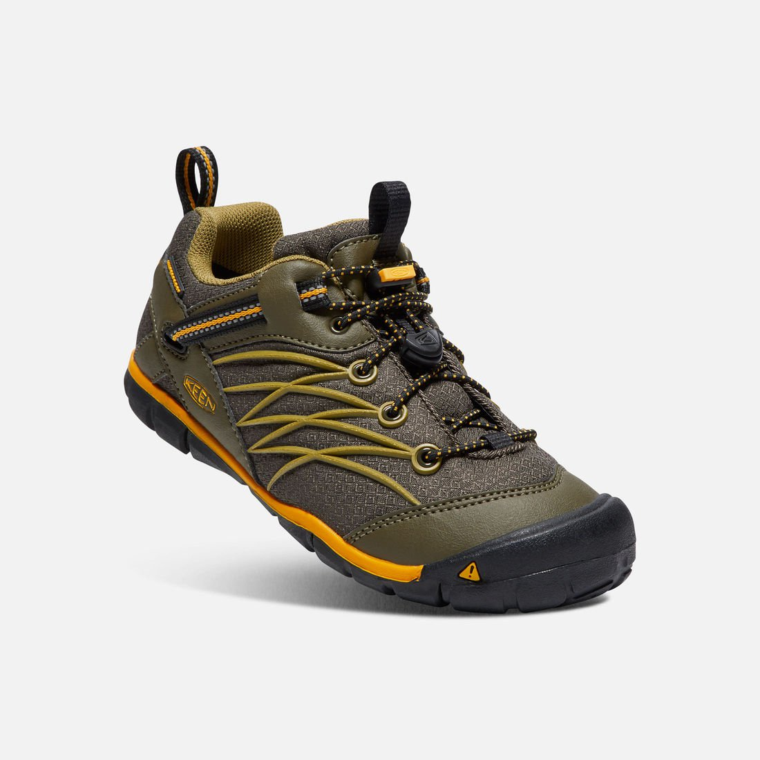 KEEN CHANDLER CNX WATERPROOF dark olive/citrus vel.37