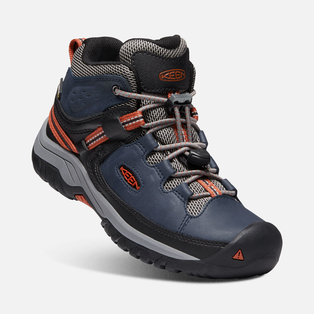 KEEN TARGHEE MID WP JR blue nights/rooibos tea vel.35