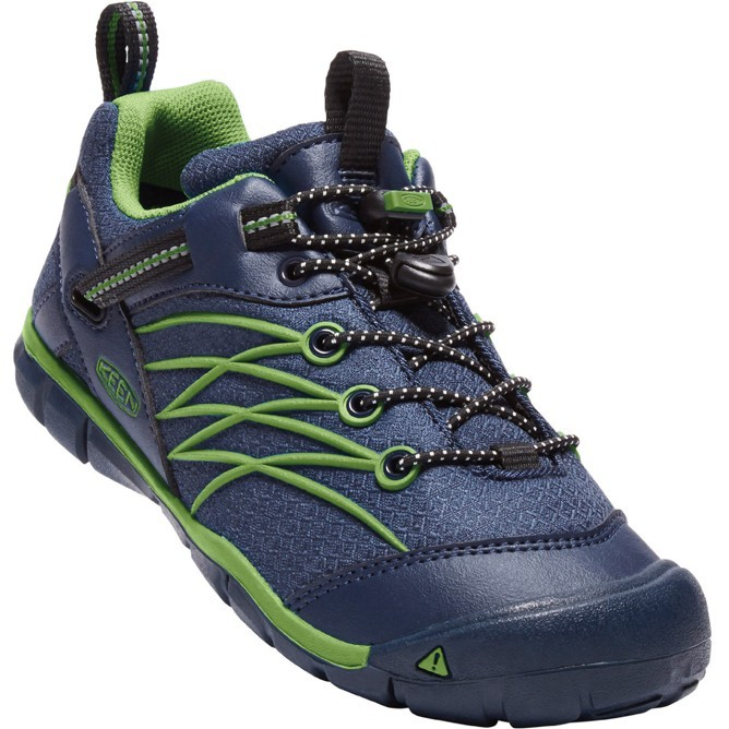KEEN CHANDLER CNX WATERPROOF dress blues/greenery vel.35