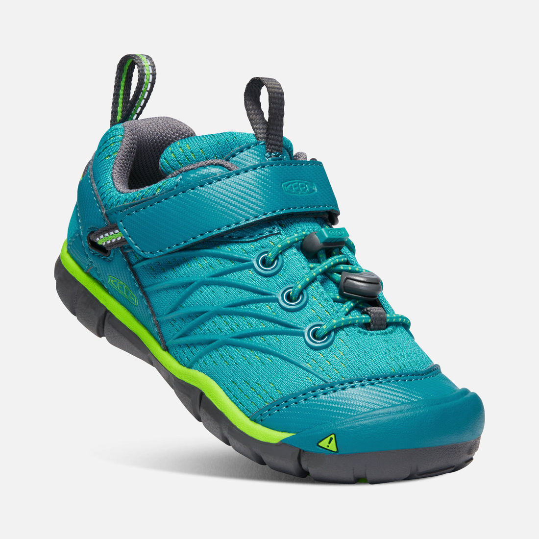 KEEN Chandler CNX tahitian tide/bright green vel.29
