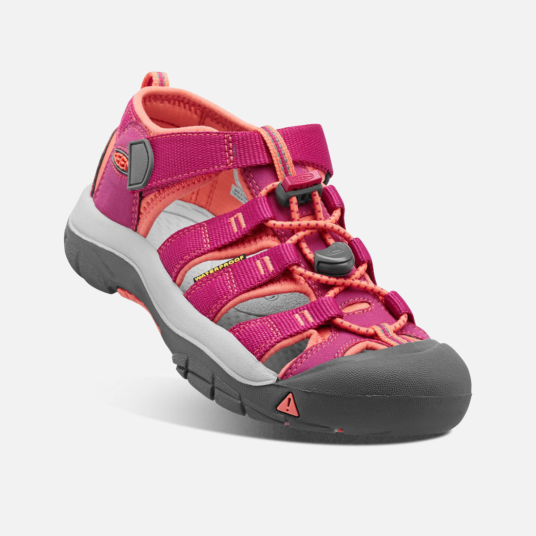 KEEN Newport H2 JR very berry/fusion coral vel.32/33