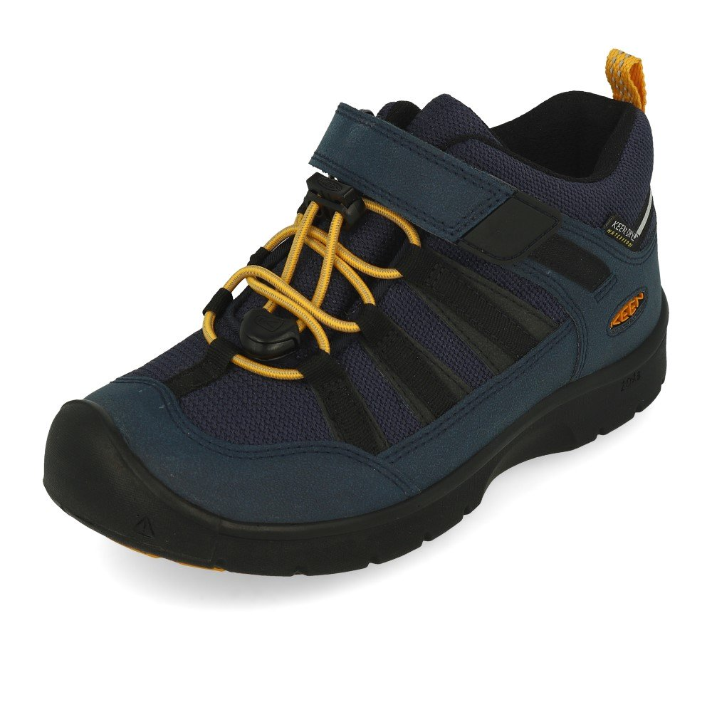 KEEN HIKEPORT WP blue nights/sunflower vel.27/28