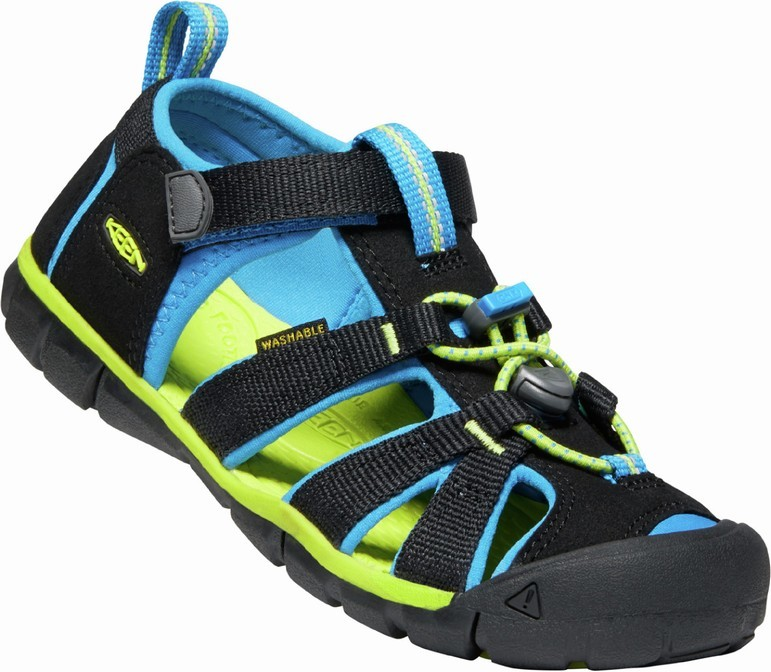 KEEN SEACAMP II CNX black/brilliant blue vel.34