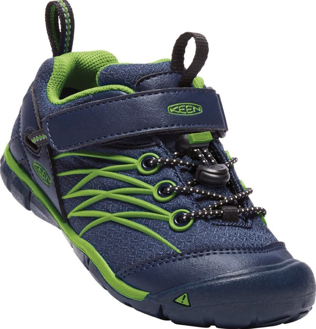 KEEN CHANDLER CNX WATERPROOF dress blues/greenery vel.30