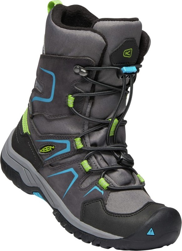 KEEN LEVO WINTER BOOT magnet/blue jewel vel.32/33