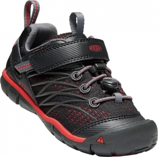 KEEN Chandler CNX raven/fiery red vel.25/26